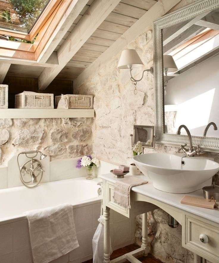 Shabby chic mania (anche in bagno!)