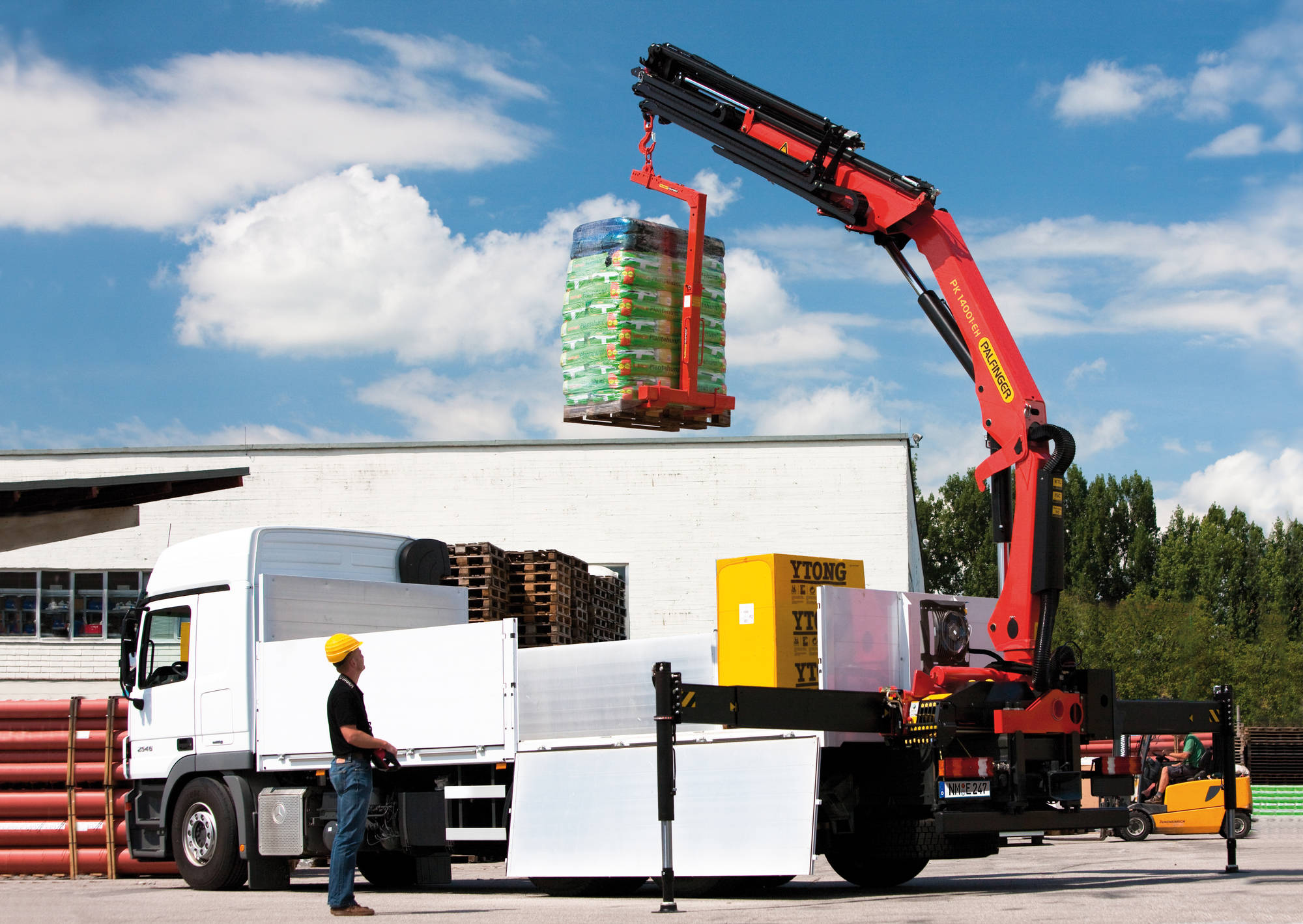 Forche gru per cantiere: strumenti di sicurezza nell'edilizia