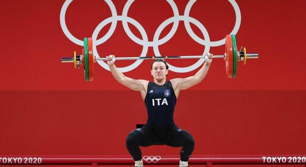 Giorgia Bordignon, medaglia argento nel sollevamento pesi